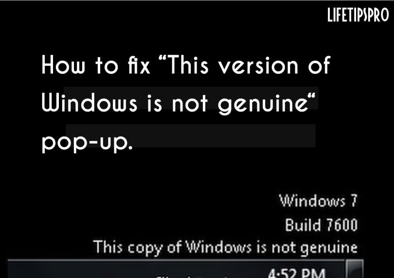 Windows xp genuine patch install fix download