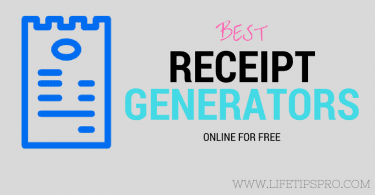 top receipt generators,receipt makers and invoice generators online for free
