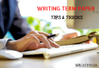 tips and tricks to write term paper