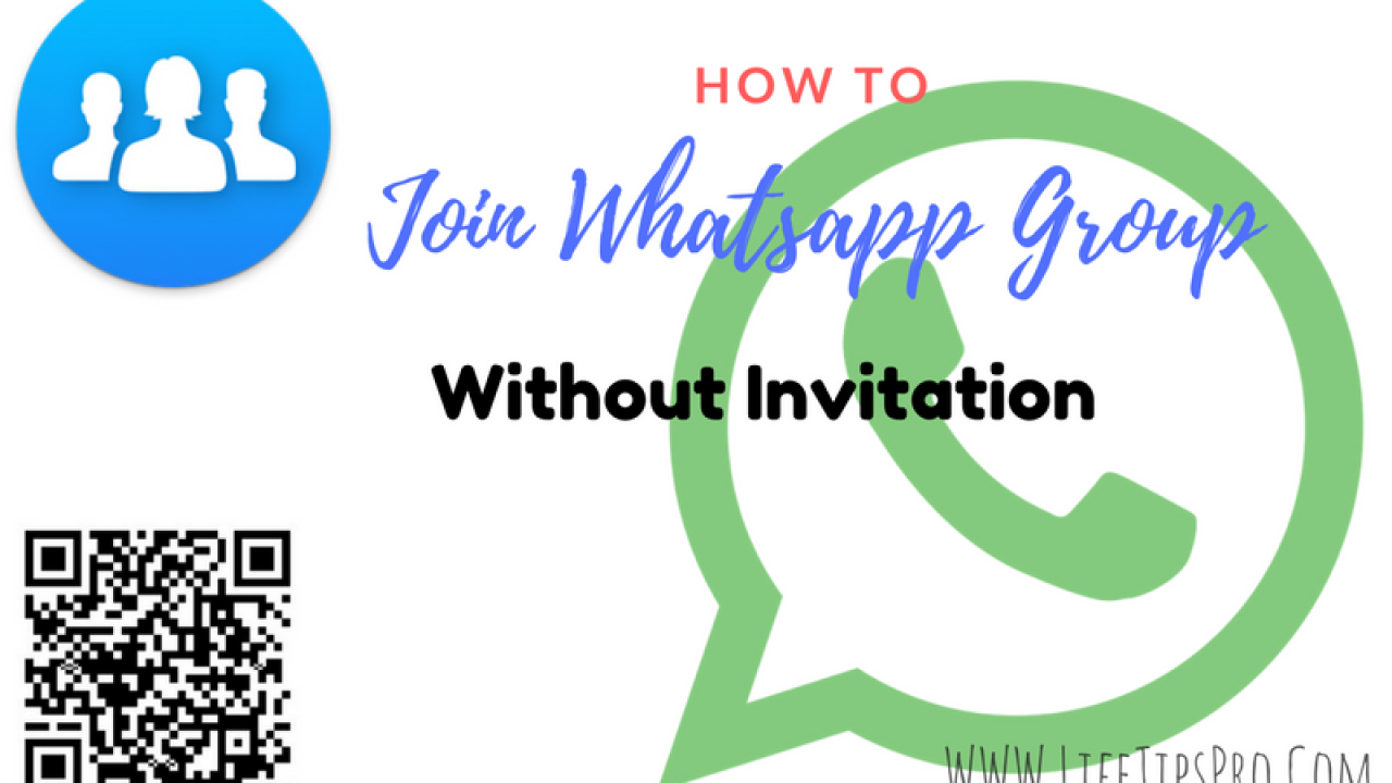 How To Join WhatsApp Group Without Invitation Using Link & QR Code