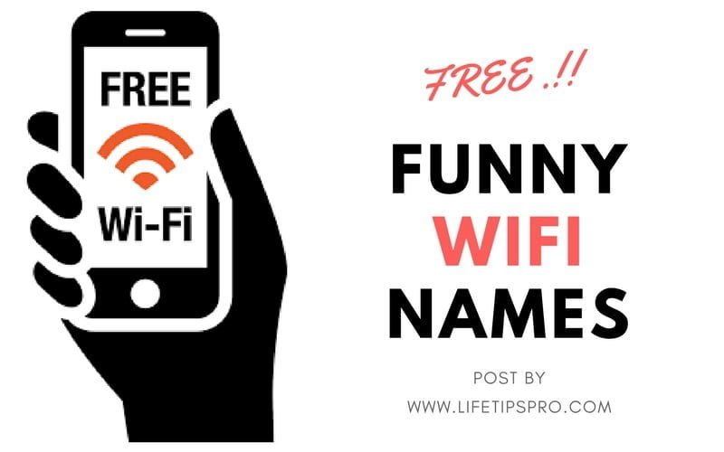 funny wifi names for your router and generator