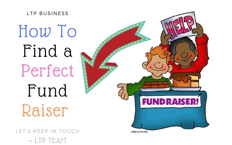 find a perfect fund raiser